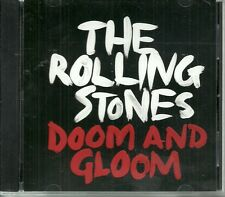 Rare Rolling Stones Doom And Gloom 1 track Promo CD-r Radio Mix (4:08) ltd ed