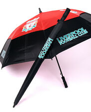 Premier Licensing - Liverpool Gustbuster Double Canopy Storm Golf Umbrella Boxed