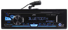 JVC KD-X240BT 1-Din Car Digital Media Bluetooth Receiver, USB/AUX/Pandora/iPhone