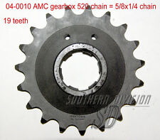 AMC gearbox sprocket 19 teeth Norton Ritzel 520 chain 5/8x1/4 Dominator ES2