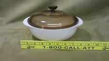 Vintage Pyrex 33 Casserole Baking Dish and Lid Great Condition kitchen bakeware