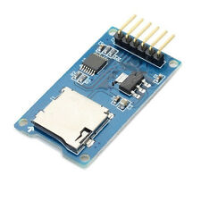 2PC Micro SD card module SPI interface with level shifter