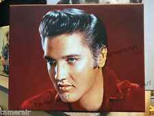 ELVIS PRESLEY PAINTING IN GICLEE CANVAS PRINT STRETCHED 11X14 inches