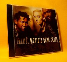 CD Carmel World's Gone Crazy 9TR 1995 Soul-Jazz, Downtempo, Synth-pop