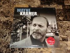 Wayne Kramer Rare Signed Limited Vinyl LP Lexington Record Store Day 2014 MC5 !
