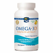 Nordic Naturals Omega 3D 120 Lemon Soft Gels BEST PRICE FREE SHIPPING