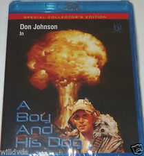 A Boy And His Dog -Collector's Ed. BRAND NEW BLU-RAY ** FREE FIRST CLASS SHIP **
