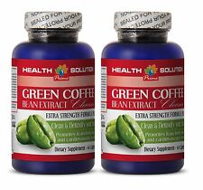 Metabolism Booster - GREEN COFFEE EXTRACT CLEANSE 2 Bottles