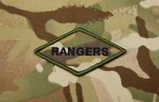 Multicam RANGERS Diamond Morale Patch 75th Ranger Regiment Fort Benning US Army