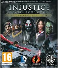 Injustice: Gods Among Us Ultimate Edition Steam Key PC Digital Download Code