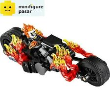 sh267 Lego Super Heroes Spiderman Spider-Man 76058 - Ghost Rider & Bike - New