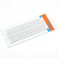 Solderless Breadboard Protoboard 830 Tie Points 2 buses Test Circuit Mini MB-102