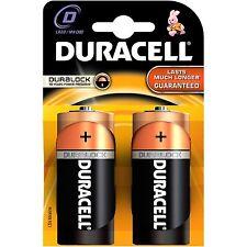 2 x DURACELL D ALCALINA LR20 1,5 V Batterie MN1300 DURACELL BATTERIA