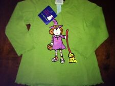 WEE WINTER WOOLIES by Flap Happy Halloween WITCH Shirt Top* Sz 2 *NWT