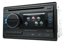 "Power Acoustik Double Din PD-342 CD/DVD/MP3 Player 3.4"" LCD Display USB AUX New"