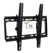 "Slim TV Wall Mount Tilt Bracket 32 40 42 48 50 55"" inch LED LCD Flat Screen"