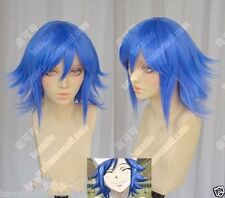 Fairy Tail Juvia Lockser Purplish Blue Styled Cosplay Party Wig