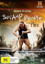 Swamp People : Season 2 (DVD, 2012, 4-Disc Set)  *NEW & SEALED / Region 4