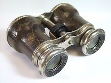 Antique Opera Field Glasses LE JOCKEY CLUB PARIS Horse Racing Binoculars c1910