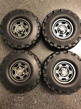 SCX10 Billet Aluminum Split Wheels Cap Crawler 3 Piece Axial 1.9 NEW Rims Tires