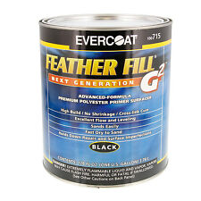 Evercoat FEATHER FILL  G2 Black POLYESTER PRIMER Surface SURFACER-Auto Paint