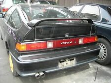JDM HONDA CR-X CRX EF8 SIR REAR WING SPOILER WITH BRAKE LIGHT OEM