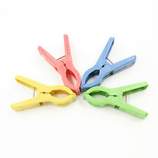20x Heavy Duty Plastic Laundry Clothes Pins Color Hanging Pegs Clips SEAU .E