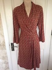 NOA NOA BEAUTIFUL FAUX WRAP DRESS SZ XXL 16 - 18 BNWT