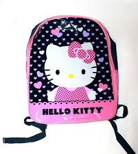 back to school hello kitty pink purple student girls kids hearts backpack bag