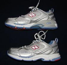New Balance 758 Silver & Blue Fit Walk Athletic Shoes Womans 6 1/2 B 6.5 NIB