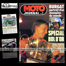 MOTO JOURNAL N°523 HONDA XL 250 S XLS, APRILIA MX 80 ★ SPECIAL BOL D'OR 1981 ★
