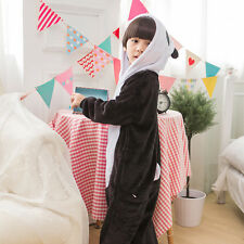 Kids Children Pajamas Kigurumi Onesies Animal Costume Dress Nightwear Sleepwear