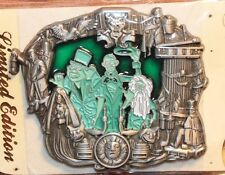 Disney WDI Haunted Mansion Hitchhiking Ghosts Disneyland Stained Glass LE Pin