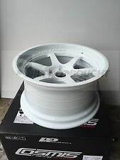 Cosmis Racing Wheels XT-006R 18x9.5 +10mm - 5x114.3 Pair of 2 wheels in White