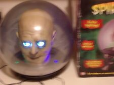SPIRIT BALL JEEVES THE FORTUNE TELLER. Lights up, scary sayings. Used.