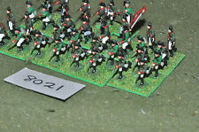 20mm napoleonic russian plastic 32 infantry (8021) painted