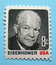 Sc # 1394 ~ 8 cent Dwight Eisenhower Issue