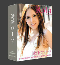 New A Deck Poker Sexy Girl Japanese AV Takizawa Rola playing card of 54pcs cards