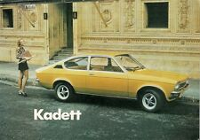 Opel Kadett C 1973-75 UK Market Sales Brochure Saloon Coupe Estate