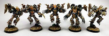 Warhammer 40K Painted Chaos Space Marine Iron Warrior Warp Talons Commission