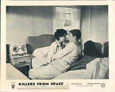 Killers from Space original Lobby Card Peter Graves Barbara Bestar cult sci-fi