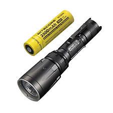 Combo: Nitecore SRT7GT Flashlight  w/NL1835 3500mAh Rechargeable 18650 Battery