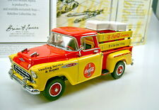 "Models of Yesteryear 1957 Chevy Pick-up ""Coca Cola"""