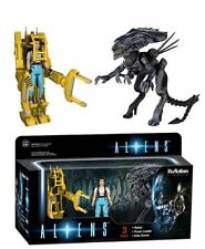 Funko ReAction Aliens Set: Ripley+Alien Queen+Power Loader - Action Figures NEW