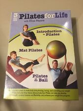 Pilates For Life With Elise Moore 3 DVD Set 2010 NIB Sealed FREE shipping