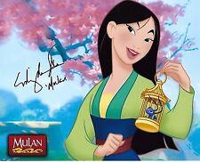 Ming-Na Wen Signed 8x10 Photo - Walt Disney's Voice of MULAN - STUNNING!!! G912