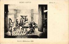 CPA PARIS (9e) - Musée GRÉVIN Soirée á Malmaison 1800 (219018)