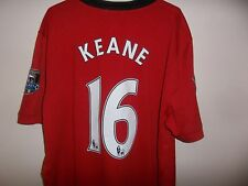 Keane 16 - Manchester United Home Shirt - 2008 - Nike - Large