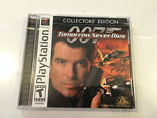 007 Tomorrow Never Dies (PlayStation) JAMES BOND - Complete Collector's Edition
