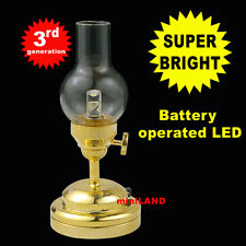 Hurricane Super bright battery LED LAMP Dollhouse miniature light on/off BRS